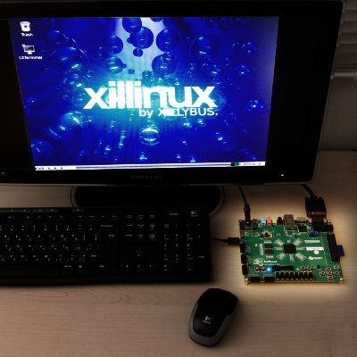 Xillinux desktop photo